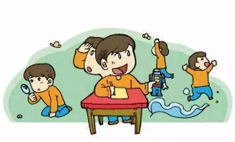 ADHD儿童多动症