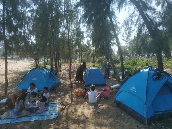 20181浪琴湾露营活动