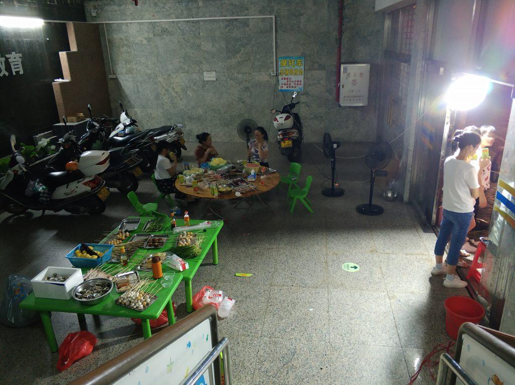 2019启语国庆假期亲子烧烤活动